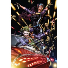 JOKER #1 TEAM CVR MARK BROOKS CARD STOCK VAR