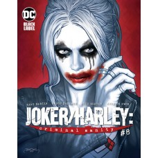 JOKER HARLEY CRIMINAL SANITY #8 (OF 8) CVR B JASON BADOWER VAR (MR)