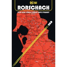 RORSCHACH #6 (OF 12) CVR A JORGE FORNES (MR)