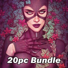DC COMICS FEB CARD STOCK VARIANT BUNDLE