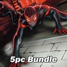 MILES MORALES SPIDER-MAN #25 REG AND VARIANT BUNDLE