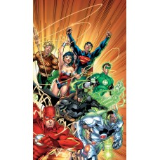 JUSTICE LEAGUE THE NEW 52 OMNIBUS VOL 1 HC