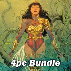 WONDER GIRL #1 CVR A B C + TEAM VAR BUNDLE