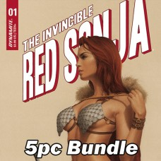 INVINCIBLE RED SONJA #1 CVR A B C D E F BUNDLE