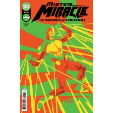 MISTER MIRACLE THE SOURCE OF FREEDOM #1 (OF 6) CVR A YANICK PAQUETTE