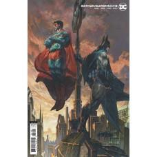BATMAN SUPERMAN #18 CVR B SIMONE BIANCHI CARD STOCK VAR