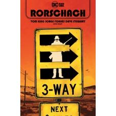 RORSCHACH #8 (OF 12) CVR A JORGE FORNES (MR)