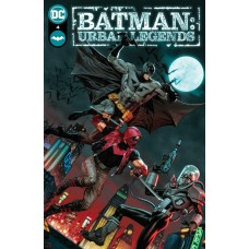 BATMAN URBAN LEGENDS #4 CVR A JORGE MOLINA