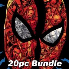 SINISTER WAR #1 #2 + AMAZING SPIDER-MAN #70 #71 REG AND VARIANT CVR BUNDLE