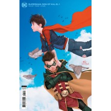 SUPERMAN SON OF KAL-EL #1 CVR B INHYUK LEE CARD STOCK VAR