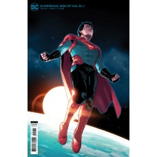 SUPERMAN SON OF KAL-EL #1 CVR C STEPHEN BYRNE CARD STOCK VAR
