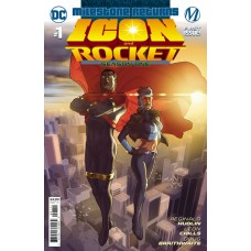 ICON & ROCKET SEASON ONE #1 (OF 6) CVR A TAURIN CLARKE