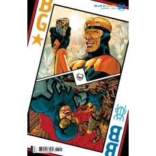 BLUE & GOLD #1 (OF 8) CVR B DAVE JOHNSON CARD STOCK VAR