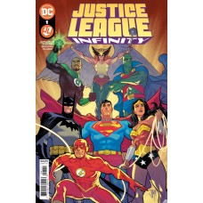 JUSTICE LEAGUE INFINITY #1 (OF 7) CVR A FRANCIS MANAPUL