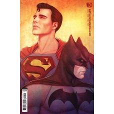BATMAN SUPERMAN #20 CVR B JENNY FRISON CARD STOCK VAR