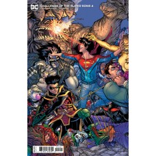 CHALLENGE OF THE SUPER SONS #4 (OF 7) CVR B NICK BRADSHAW CARD STOCK VAR