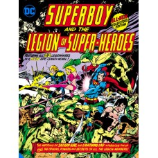 SUPERBOY AND THE LEGION OF SUPER-HEROES TABLOID EDITION HC