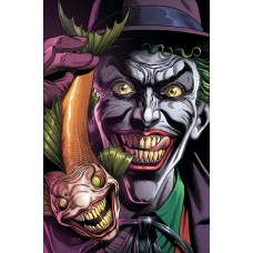 BATMAN THREE JOKERS #1 (OF 3) PREMIUM VAR B JOKER FISH
