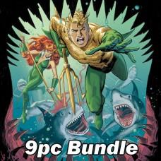 AQUAMAN 80TH ANNIVERSARY 100-PAGE SUPER SPECTACULAR #1 BUNDLE
