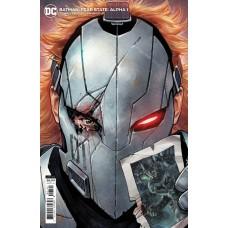 BATMAN FEAR STATE ALPHA #1 (ONE SHOT) CVR B DYLAN TEAGUE CARD STOCK VAR