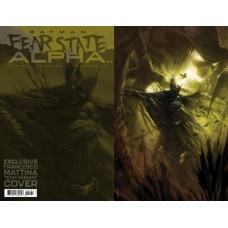BATMAN FEAR STATE ALPHA #1 (ONE SHOT) FRANCESCO MATTINA FOIL CARD STOCK TEAM VAR