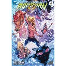 AQUAMAN 80TH ANNIVERSARY 100-PAGE SUPER SPECTACULAR #1 (ONE SHOT) CVR I ROBSON ROCHA 2010S VAR