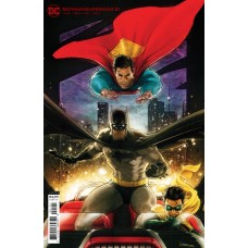 BATMAN SUPERMAN #21 CVR B KAARE ANDREWS CARD STOCK VAR