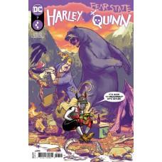 HARLEY QUINN #7 CVR A RILEY ROSSMO (FEAR STATE)
