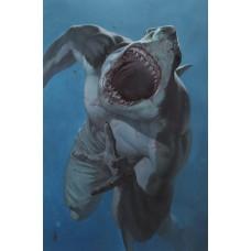 SUICIDE SQUAD KING SHARK #1 (OF 6) CVR B RICCARDO FEDERICI CARD STOCK VAR