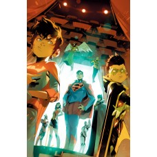 CHALLENGE OF THE SUPER SONS #6 (OF 7) CVR A SIMONE DI MEO