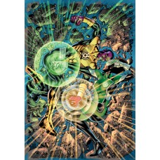 GREEN LANTERN #6 CVR B BRYAN HITCH CARD STOCK VAR