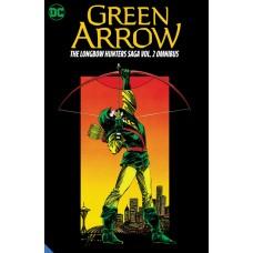 GREEN ARROW THE LONGBOW HUNTERS SAGA OMNIBUS HC VOL 02