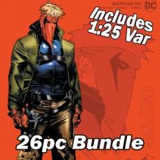 BATMAN #101 - 10 CVR A + 15 CVR B + 1:25 JIMENEZ CARD STOCK VAR 26PC BUNDLE (JOKER WAR)