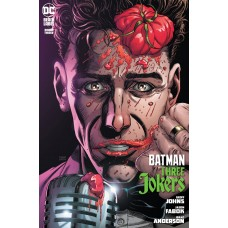 BATMAN THREE JOKERS #3 (OF 3) PREMIUM VAR H STAND-UP COMEDIAN (MR)