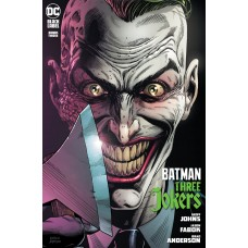 BATMAN THREE JOKERS #3 (OF 3) PREMIUM VAR I ENDGAME MOHAWK (MR)