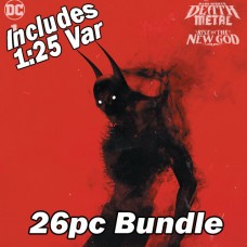DARK NIGHTS DEATH METAL RISE OF THE NEW GOD #1 - 25 COPIES CVR A + 1:25 BOSSLOGIC VAR 26PC BUNDLE