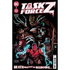 TASK FORCE Z #1 CVR A EDDY BARROWS