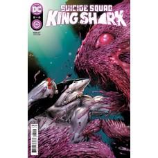 SUICIDE SQUAD KING SHARK #2 (OF 6) CVR A TREVOR HAIRSINE