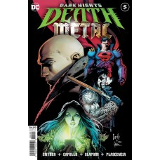 DARK NIGHTS DEATH METAL #5 (OF 7) CVR A GREG CAPULLO & JONATHAN GLAPION