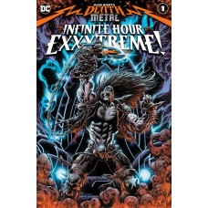 DARK NIGHTS DEATH METAL INFINITE HOURS EXXXTREME #1 (ONE SHOT) CVR A KYLE HOTZ