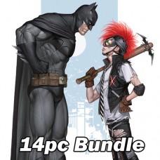 DC COMICS OCTOBER CARD STOCK VARIANT BUNDLE