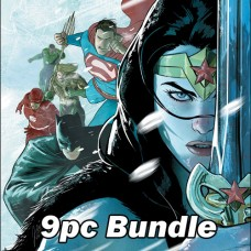 DC'S ENDLESS WINTER MAIN CVR A TIE IN ISSUES BUNDLE