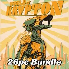 WORLD OF KRYPTON #1 - 10EA CVR A + 15EA CVR B + 1EA 1:25 RATIO BUNDLE