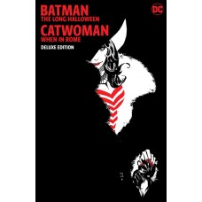 BATMAN THE LONG HALLOWEEN CATWOMAN WHEN IN ROME THE DELUXE EDITION HC