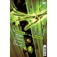 ARKHAM CITY THE ORDER OF THE WORLD #4 (OF 6) CVR A SAM WOLFE CONNELLY