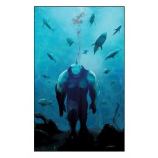 SUICIDE SQUAD KING SHARK #4 (OF 6) CVR B LIVIO RAMONDELLI CARD STOCK VAR
