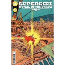 SUPERGIRL WOMAN OF TOMORROW #7 (OF 8) CVR A BILQUIS EVELY