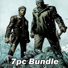 WALKING DEAD DLX #6 CVR A B C D AND #7 CVR A B C BUNDLE