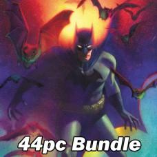 DC COMICS APRIL CARD STOCK VARIANT BUNDLE