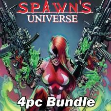 SPAWN UNIVERSE #1 CVR A B C D CAMPBELL BUNDLE